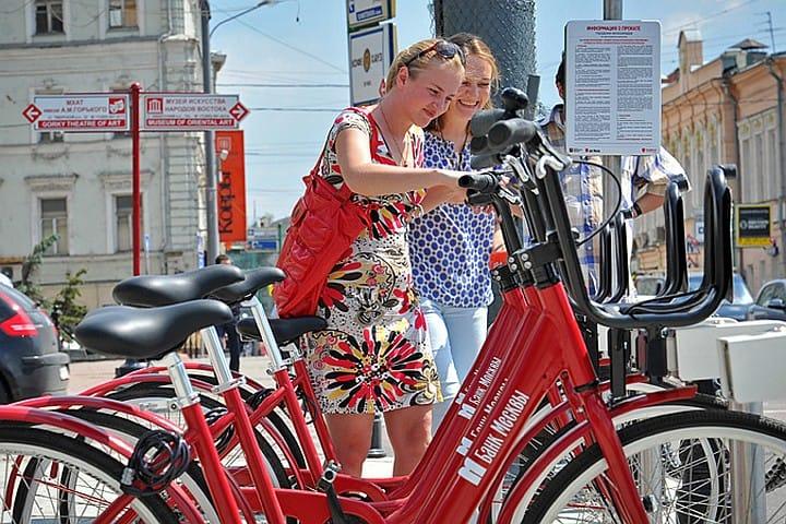 прокат велосипедов в Москве Все больше москвичей пользуются велопрокатом 2 1