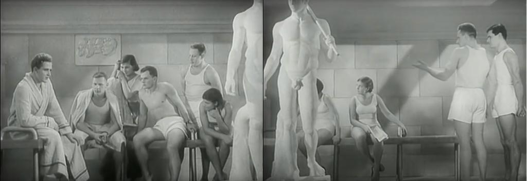 Кадры из фильма Абрама Роома «Строгий Юноша», 1936 Советская античность Легенды и мифы советской античности 3 1024x352