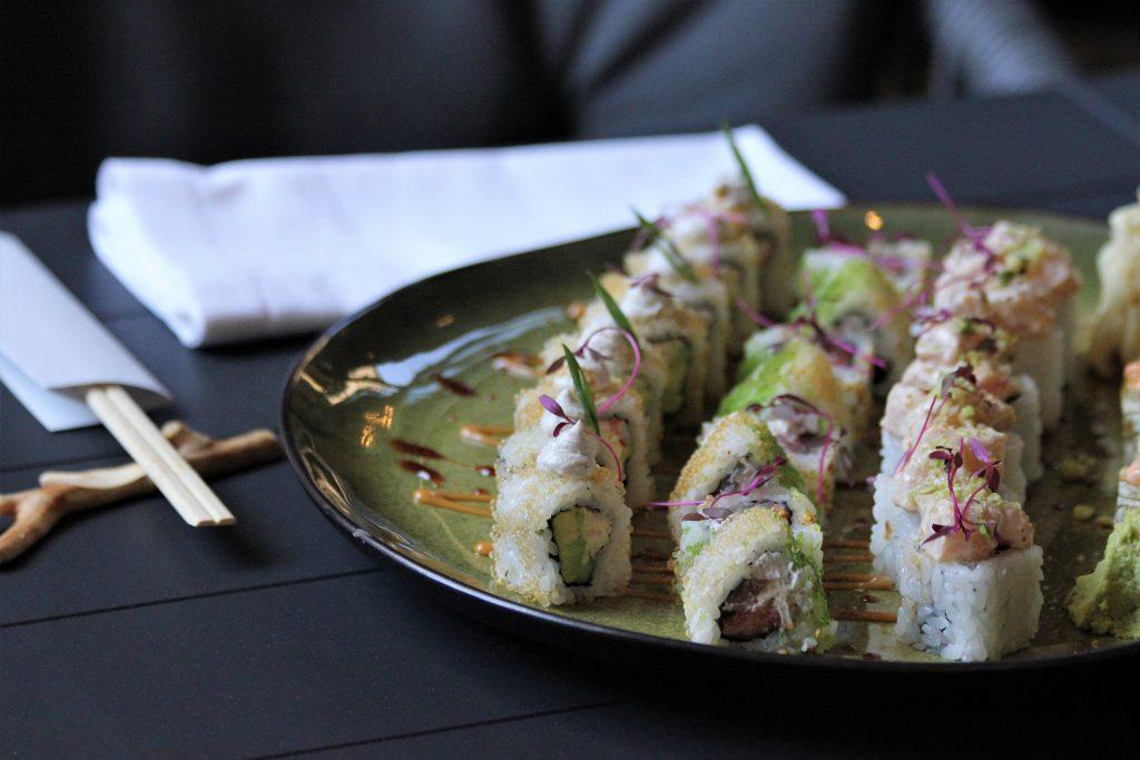 Ресторан niji Ресторан NiJi: Мраморные нори, икра тобико юдзу и три вида васаби IMG 6067            1024x683