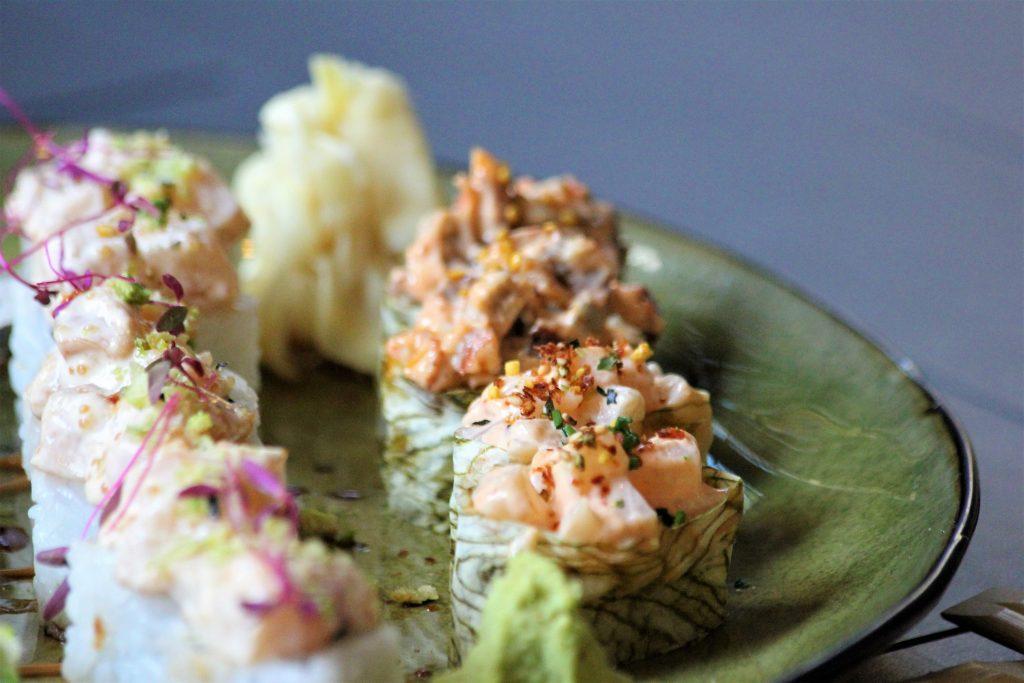 Ресторан niji Ресторан NiJi: Мраморные нори, икра тобико юдзу и три вида васаби IMG 6073 bpvty 1024x683