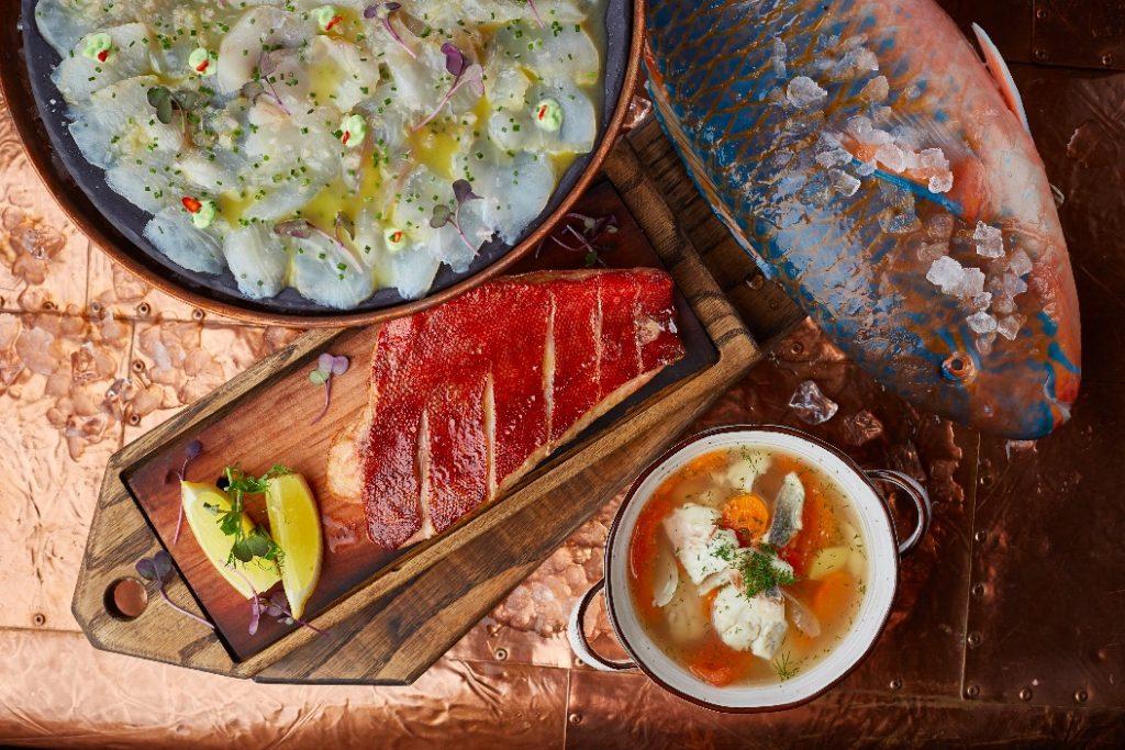 ресторан Волна Три в одном: новое меню в ресторане «Волна»                                                                   2 1024x683