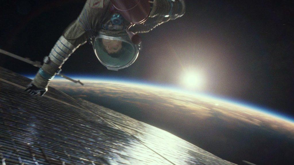 Гравитация (2013) космос 9 фильмов о покорении космоса                      1024x576