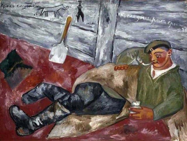 Выставка «Михаил Ларионов» в Третьяковской галереи выставка михаил ларионов Выставка «Михаил Ларионов» в Третьяковской галереи