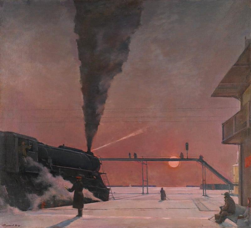 Георгий Нисский «В пути», 1958-1964 георгий нисский Границы и горизонты 1