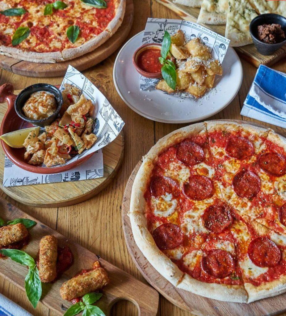 пицца Самая вкусная пицца в Москве Jamie   s Italian 926x1024