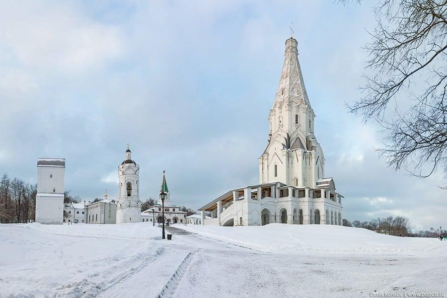 Фото из общедоступных источников парки Чем заняться в парках Москвы в декабре?