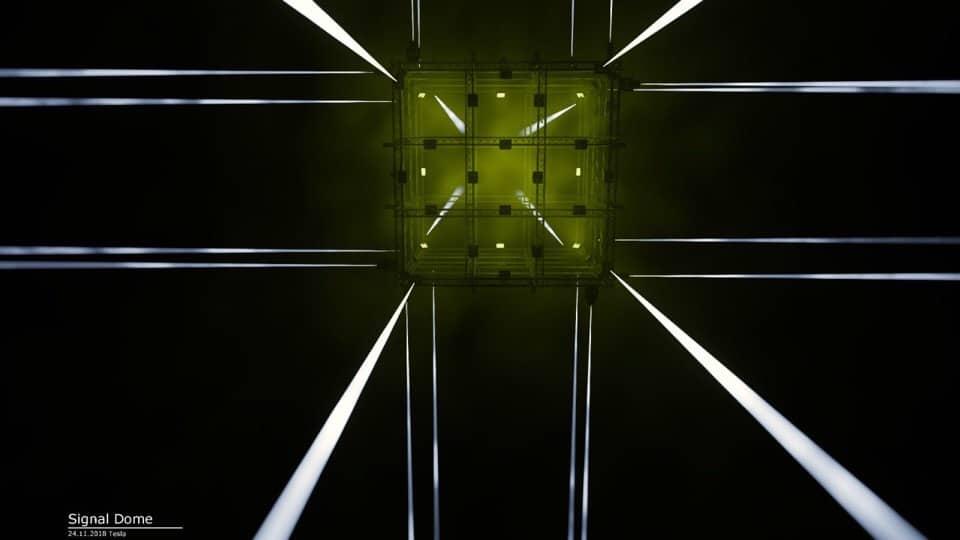 signal dome Signal Dome подготовил обновленную инсталляцию медиа-куба 1EIWR7Yohig