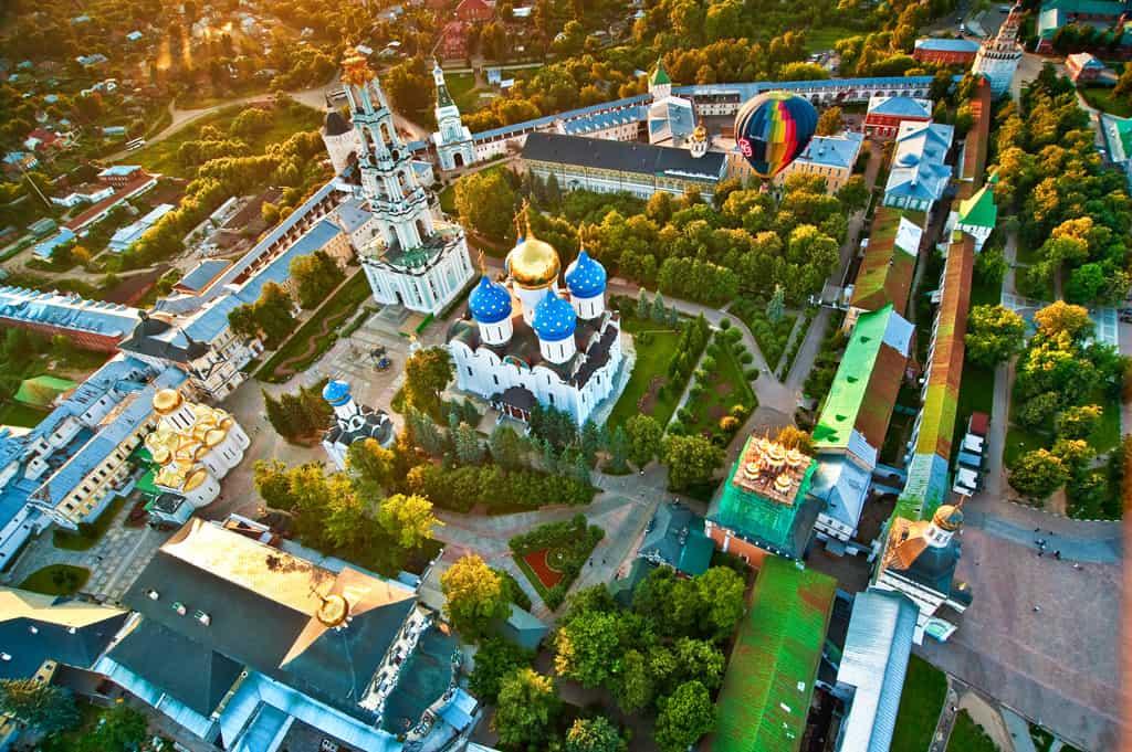 Куда поехать в выходные: Сергиев Посад - Золотое Кольцо