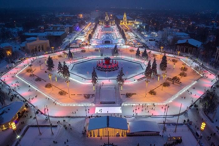 Фото из общедоступных источников парки Чем заняться в парках Москвы в декабре? vdnh