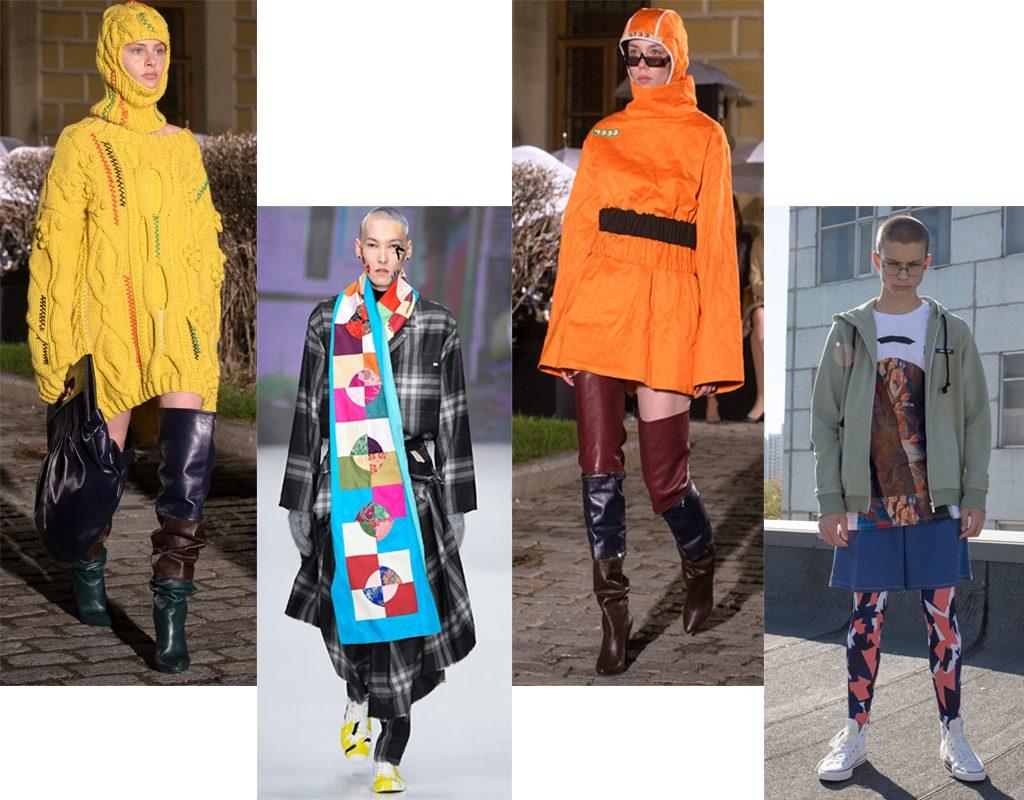 Alexander Arutyunov FW'2018-2019; Artem Shumov FW'2018-2019; Alexander Arutyunov; Sorry, I'm not SS'2019 ugly fashion Феномен Ugly fashion: почему так популярна антиэстетичная одежда и где её купить 1 1024x800