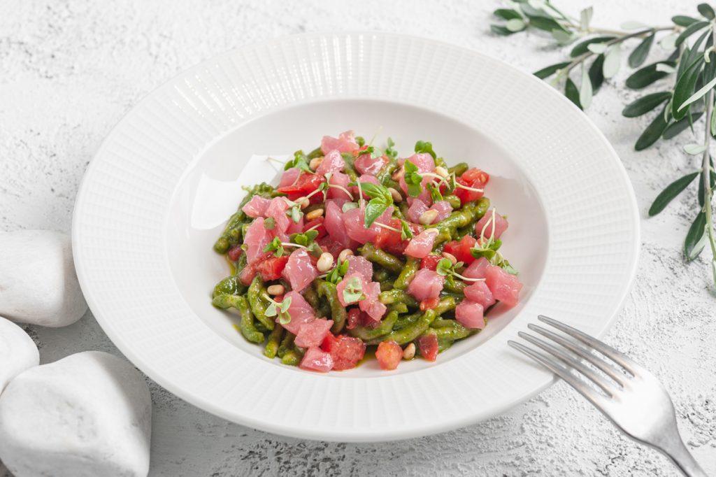 Мама будет рада Домашний итальянский ресторан «Мама будет рада! di Giacomo Lombardi» Mamabudet rada troffi pesto 1024x682