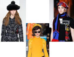 береты Модные головные уборы 2019: береты, кепки, тюрбаны        300x234