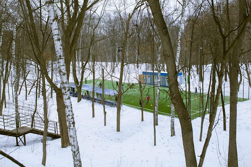 Поиграть в футбол в Парке Горького Парк Горького 5 мест для активного отдыха в Парке Горького     1