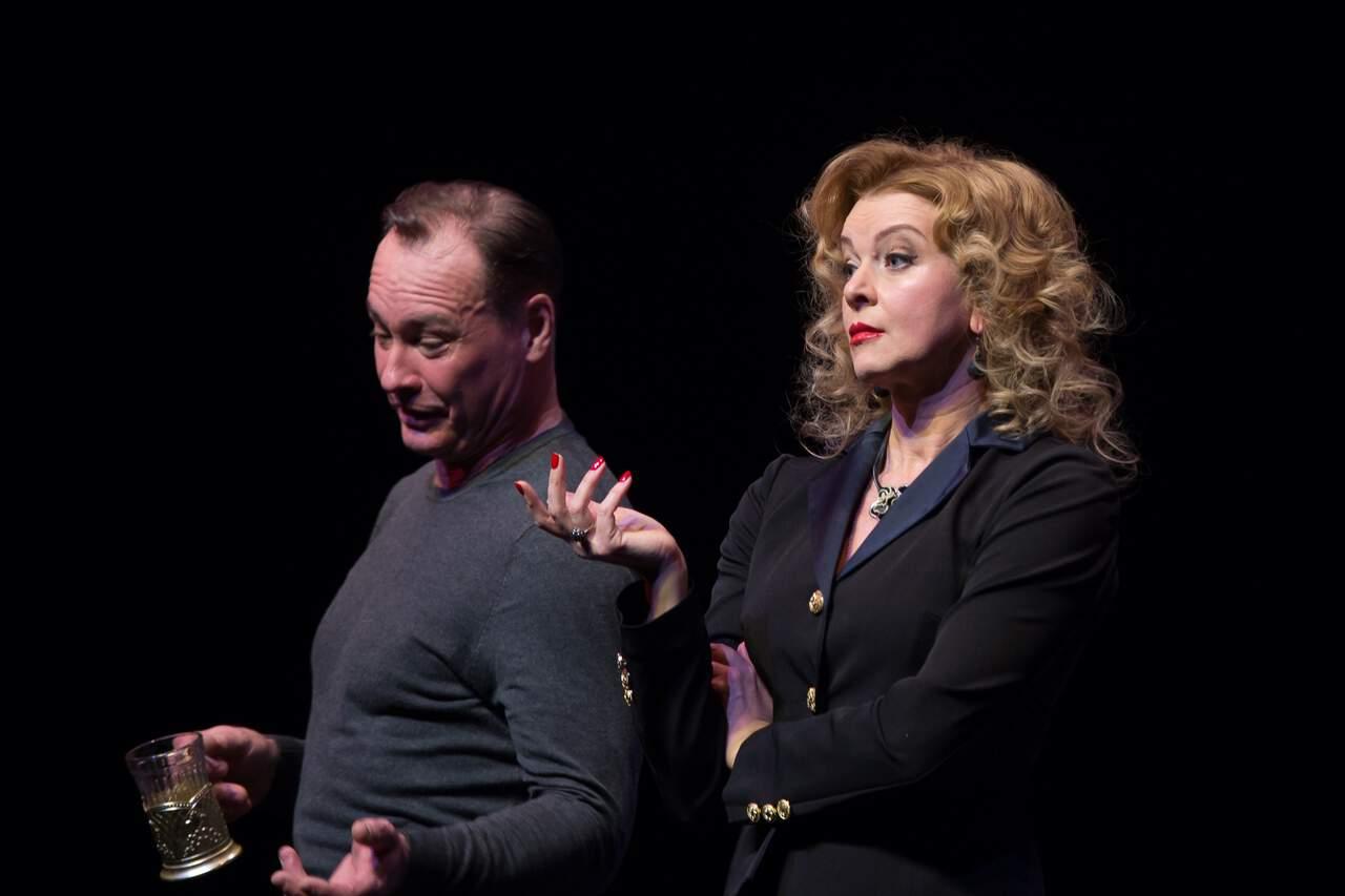 театр Луны «Не бойся жизни, Коля!» : премьерный спектакль «Солнышко моё» в Театре Луны ifSSYXsrLA