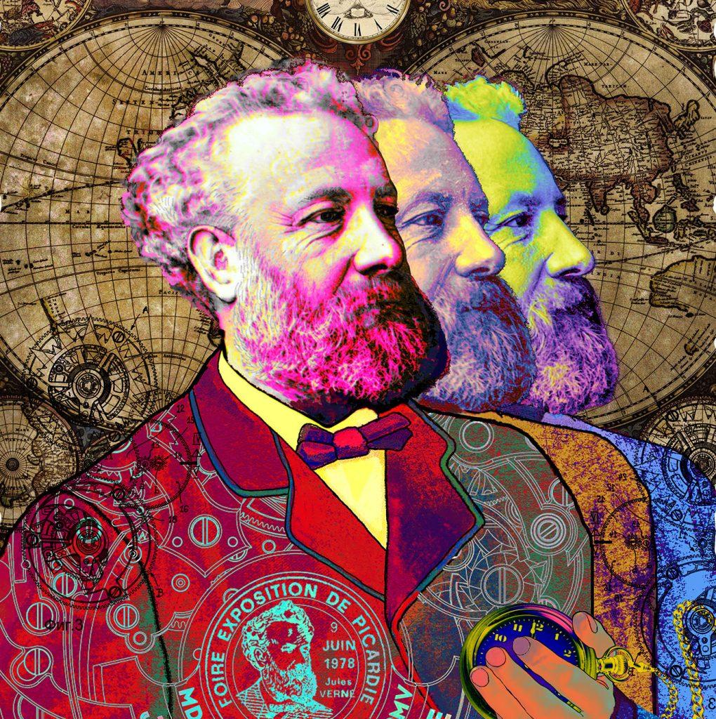 Невероятные миры Жюля Верна Жюль Верн Невероятные миры Жюля Верна в ArtPlay                    2 1020x1024