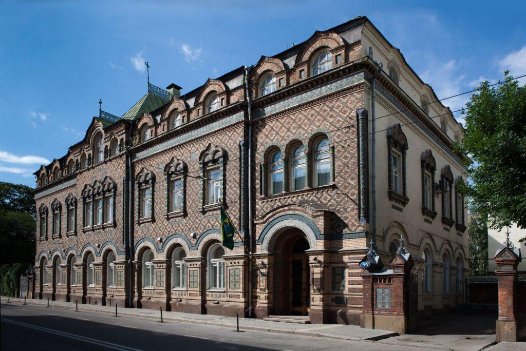 Посольство Бразилии в Москве посольства в Москве Самые красивые посольства стран в Москве 1 6 1024x684