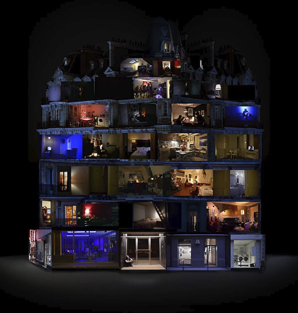 видеоарт Международный фестиваль видеоарта Сейчас&Потом'19 Trouble Collectif Interieurs Nuit 974x1024