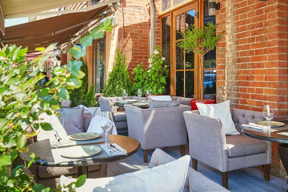 Городской сад от «Шинка» веранда Летние террасы и веранды Shinok Veranda 2019