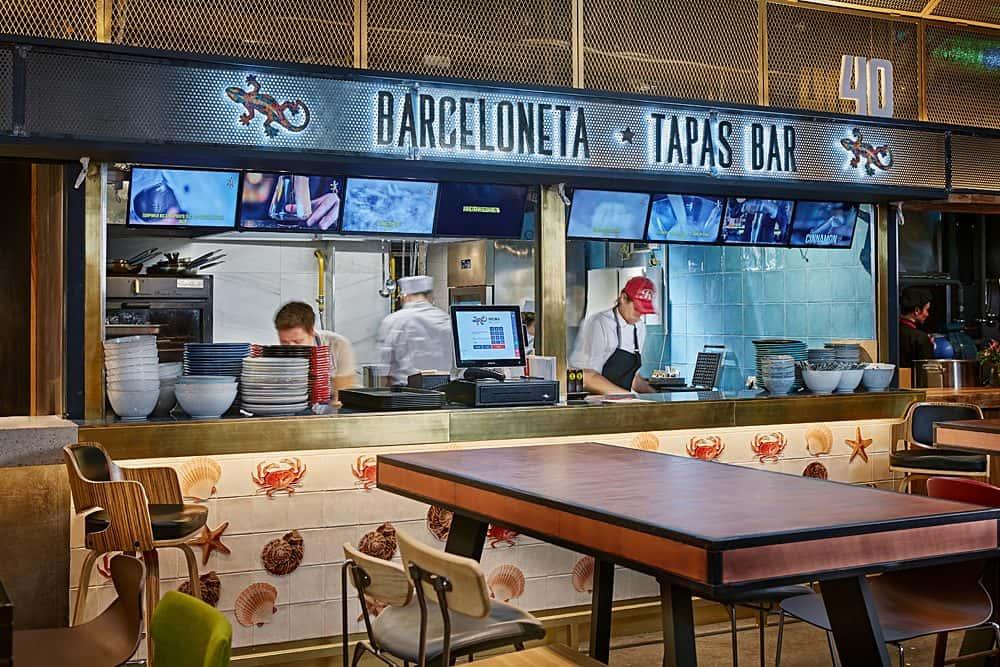 BARCELONETA TAPAS BAR barceloneta tapas bar Солнечная Испания в центре Москвы: в Депо заработал Barceloneta Tapas Bar  1 e1561640835783