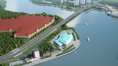 Photo of Готовность моста через Кожуховский затон составляет более 70%  Готовность моста через Кожуховский затон составляет более 70%                                 390x220