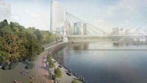 Дорогомилово и Шелепихинскую набережную может соединить пешеходный мост Дорогомилово и Шелепихинскую набережную может соединить пешеходный мост dor2 300x169