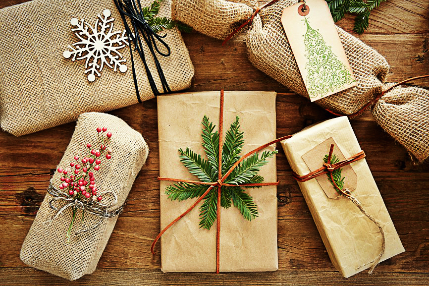 Упаковки новогодних подарков своими руками