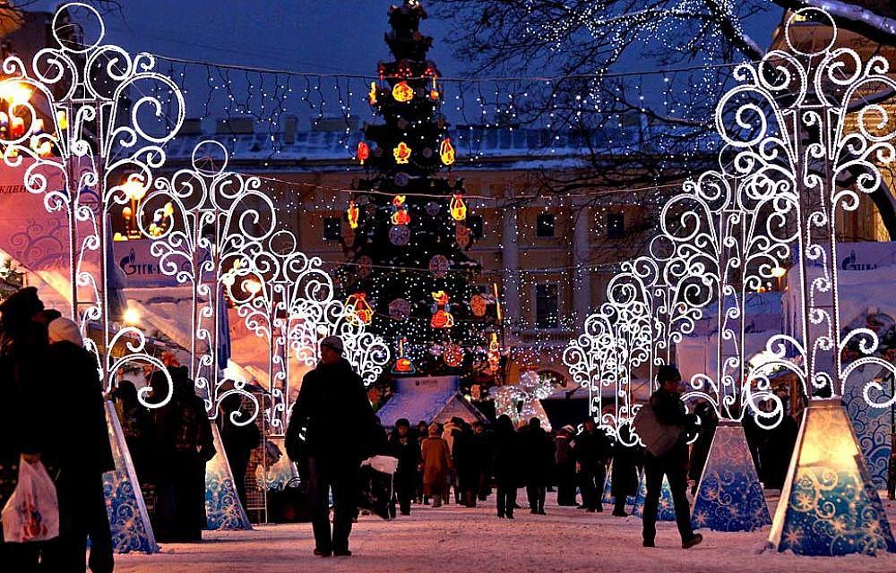 Встреча нового года в московских